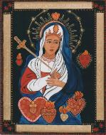 Our Lady of the Swords, Her Son brought a sword that pierced her heart