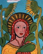 Our Lady of the Sunflower, prosperity, image of prosperity
